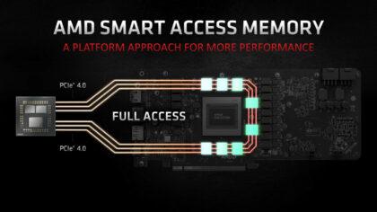AMD Smart Access Memory Ryzen 5 3600 + Radeon RX5700XT